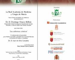 Conferencia 'Los Enfermos Crónicos'