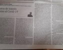 PRIMUM NON NOCERE. ARTICULO PUBLICADO POR EL  ILMO SR. D. ENRIQUE VIVIENTE LOPEZ