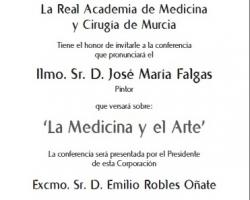 Ciclo de Conferencias - Cultura y Medicina - La Medicina y el Arte