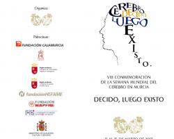 VIII Conmemoración de la semana mundial del cerebro en Murcia - Decido, Luego Existo